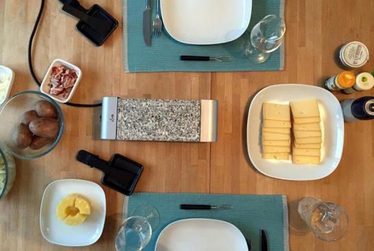 Raclette-Tisch