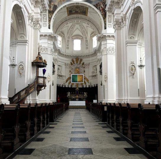 Kathedrale in Solothurn, Innenraum