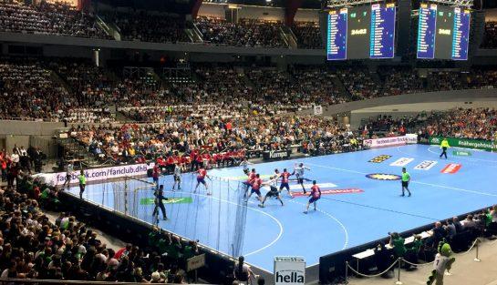 Handball in der Westfalenhalle