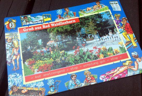 Postkarte aus Bad Waldliesborn