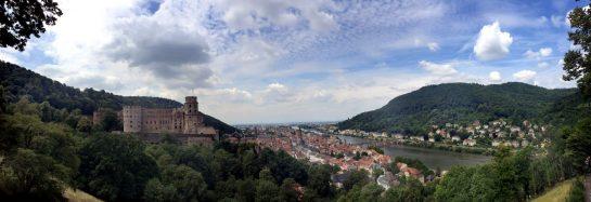 Heidelberg: Blick ins Neckartal