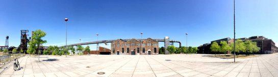 Panoramaaufnahme: Phonixhalle