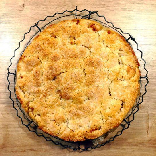 Apfelkuchen mit Knusperdeckel