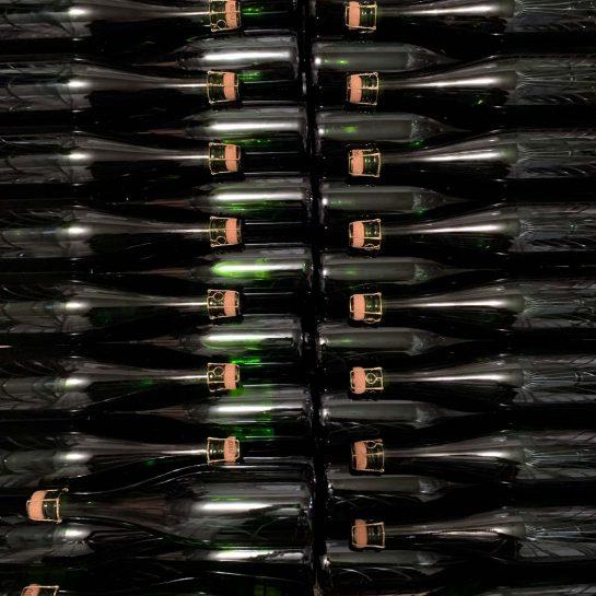 Flaschen mit Korken
