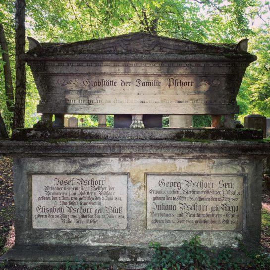 Grab der Familie Pschorr