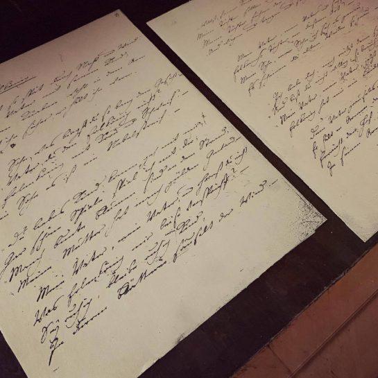 Erlönig in Goethes Handschrift