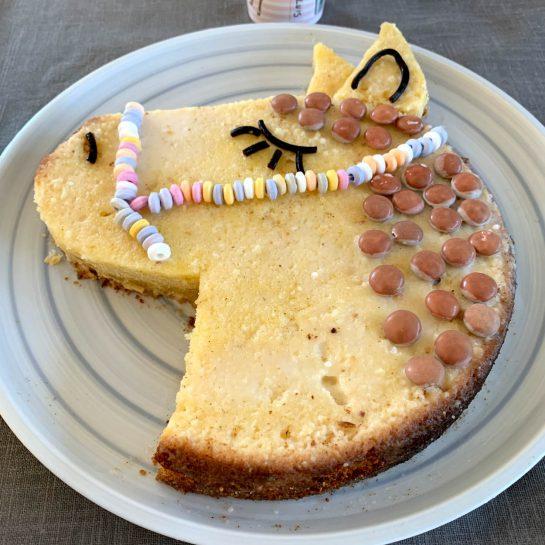 Kuchen in Pferdeform